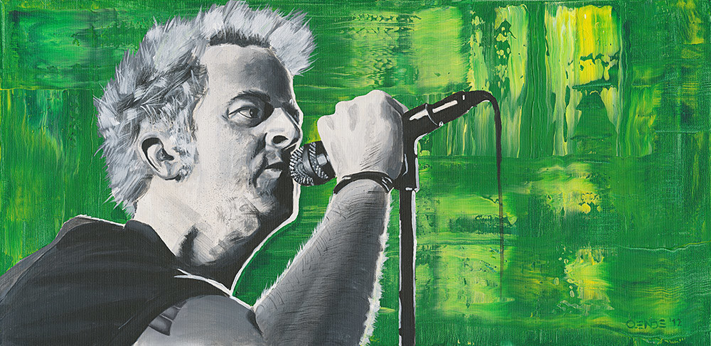 A tribute to Tony Sly Malerei Oliver Ende
