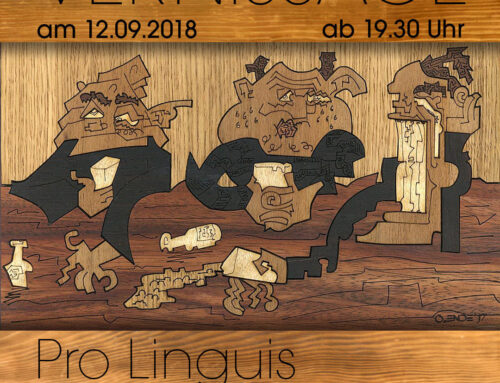 Vernissage bei Pro Linguis