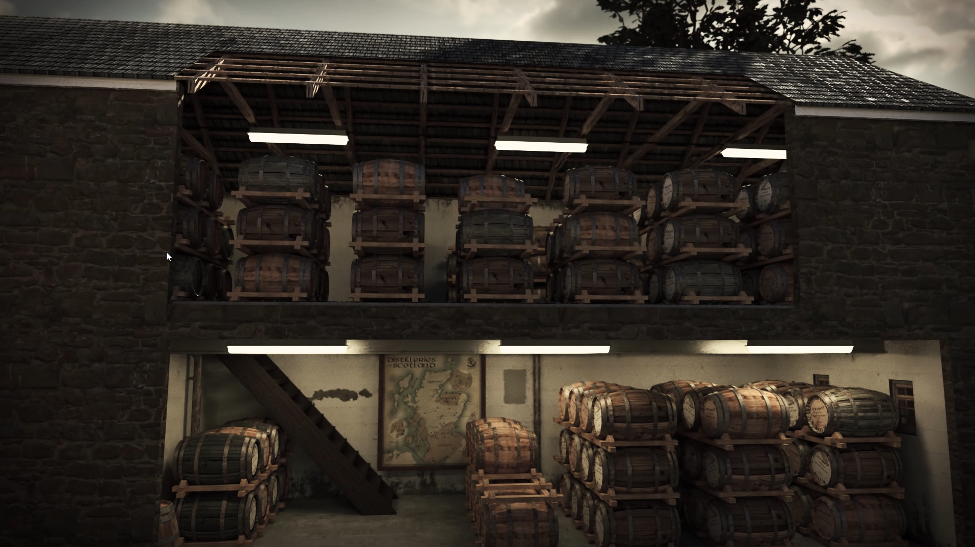 Lagerhaus Whisky Animation